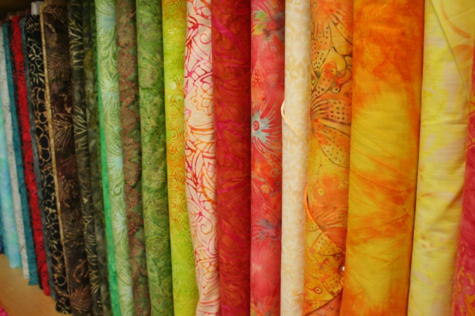 New Batiks are in. Check out our 25 new bolts!